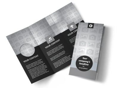 Generic Tri-Fold Brochure Template 9312