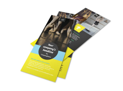 Dance School Flyer Template 2