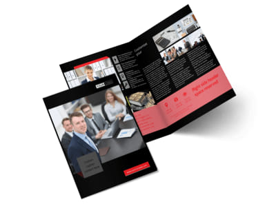 CPA & Tax Accountant Bi-Fold Brochure Template 2 preview