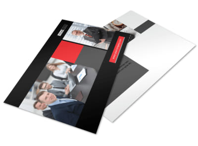 CPA & Tax Accountant Postcard Template 2 preview