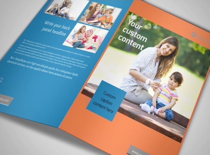 babysitting bi fold brochure template. Black Bedroom Furniture Sets. Home Design Ideas