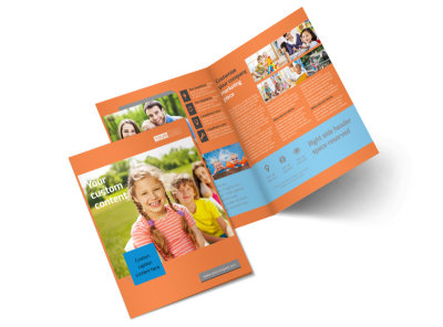 Babysitting Bi-Fold Brochure Template 2