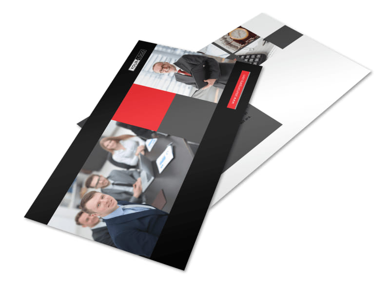 Accounting & Bookkeeping Firm Postcard Template Preview 4