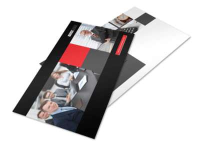 CPA & Tax Accountant Postcard Template preview