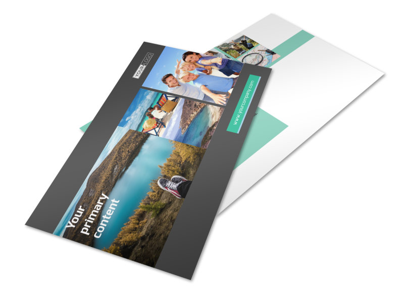 World Travel Agent Postcard Template 2