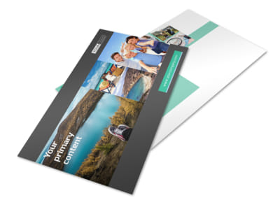 World Travel Agent Postcard Template 2 preview