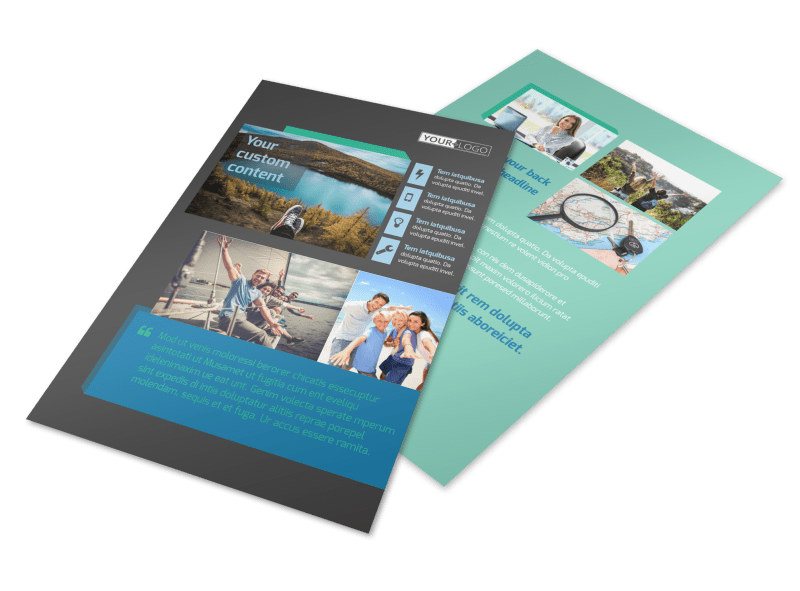 World Travel Agent Flyer Template 3