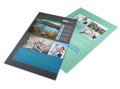 World Travel Agent Flyer Template 3 preview