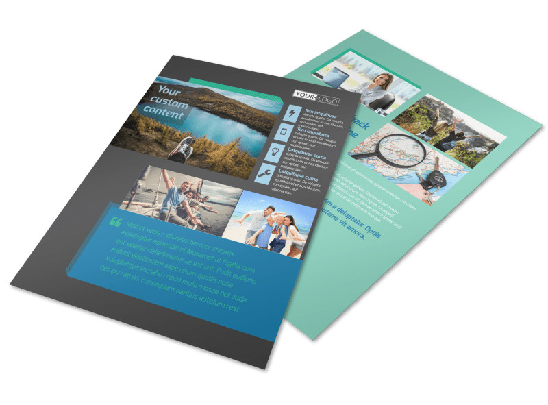World Travel Agent Flyer Template Preview 4
