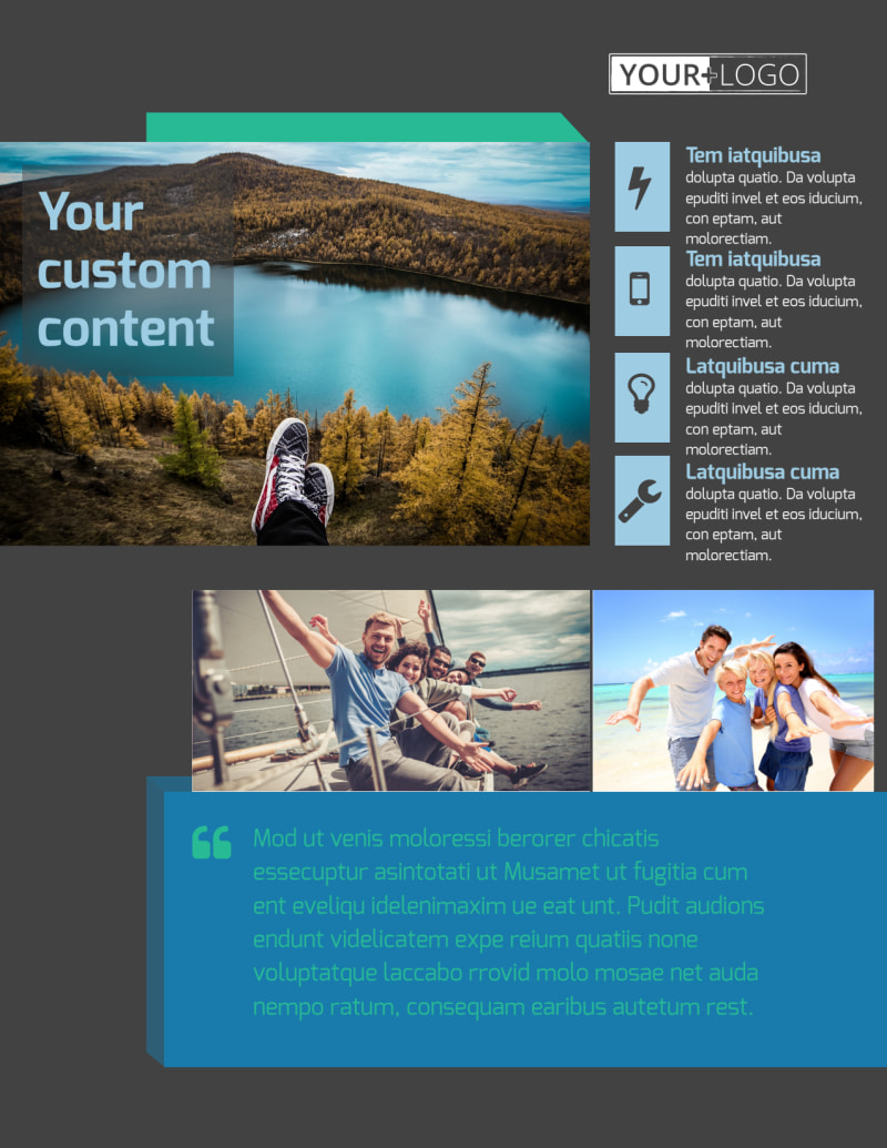World Travel Agent Flyer Template Preview 2