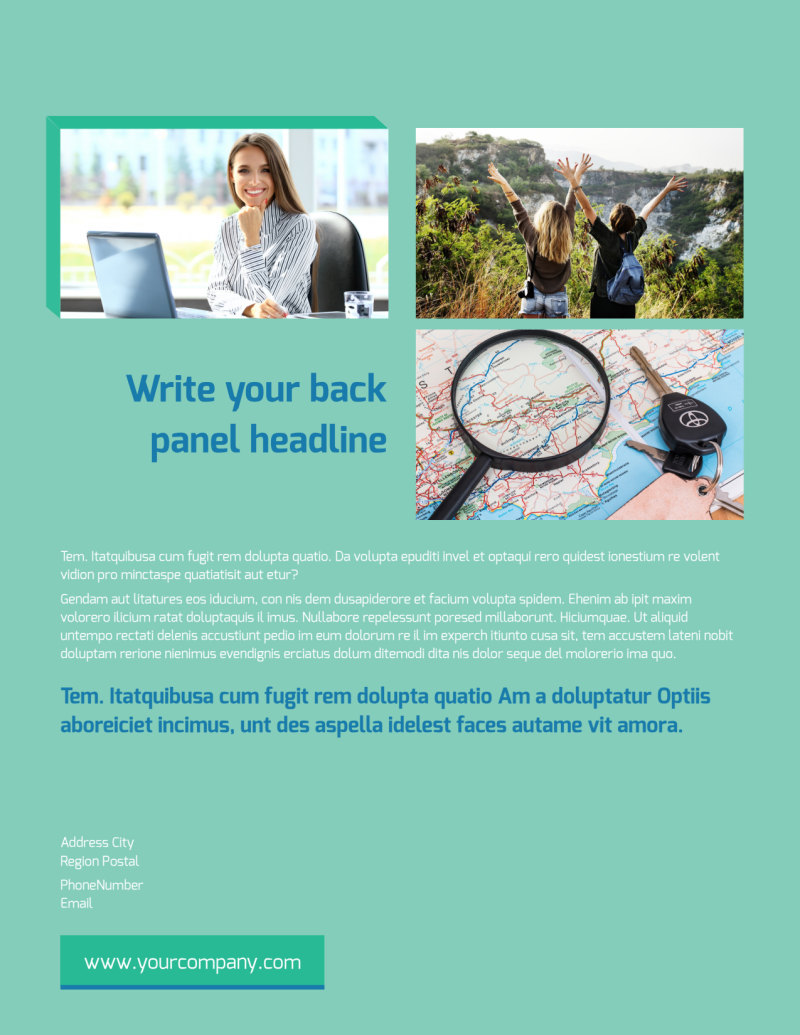 World Travel Agent Flyer Template Preview 3