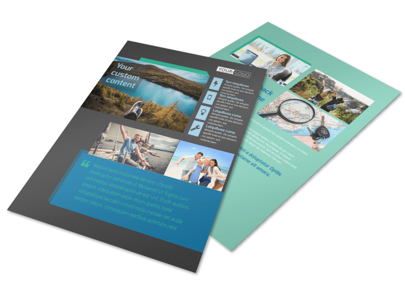 World Travel Agent Flyer Template Preview 1