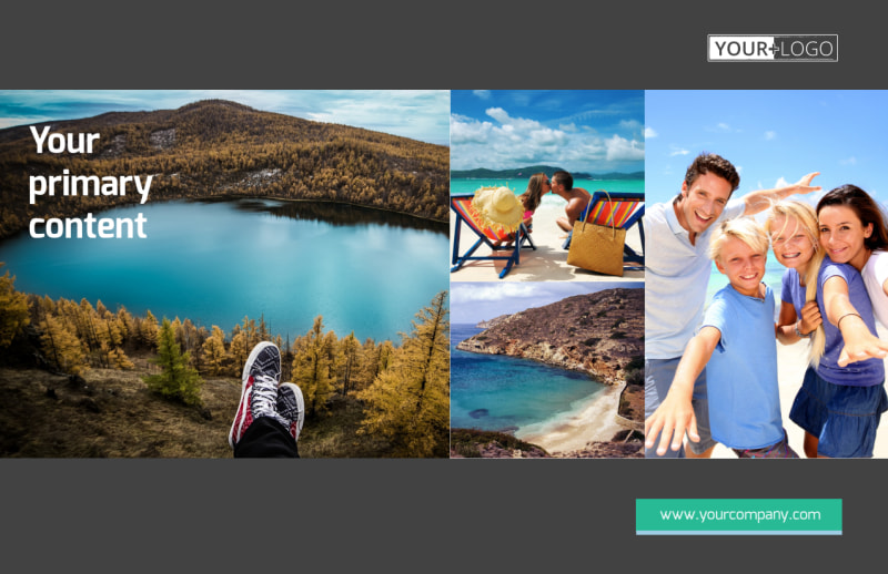 World Travel Agent Postcard Template Preview 2