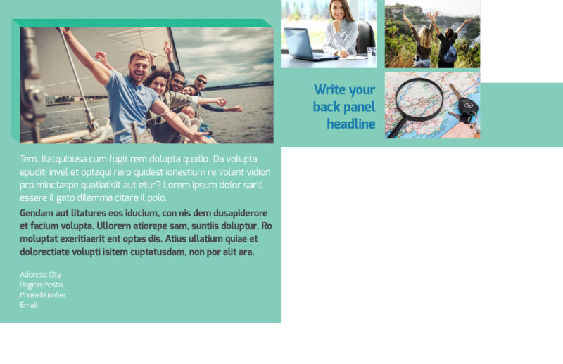 World Travel Agent Postcard Template Preview 3