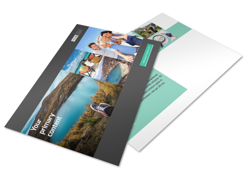 World Travel Agent Postcard Template Preview 1