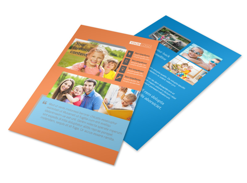 Babysitting Flyer Template 3