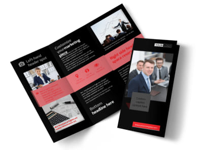 CPA & Tax Accountant Brochure Template preview