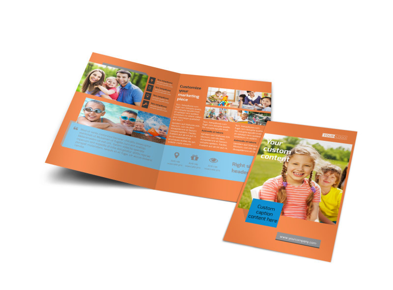 Babysitting Brochure Template Preview 4