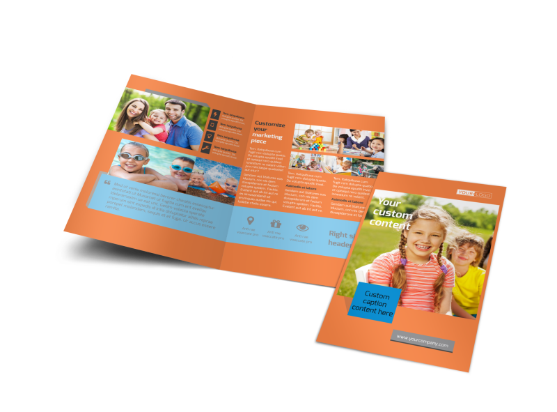 Babysitting Brochure Template Preview 1