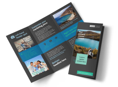World Travel Agent Tri-Fold Brochure Template preview