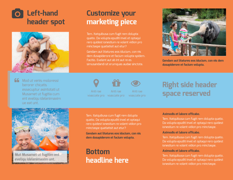 Babysitting Brochure Template Preview 3