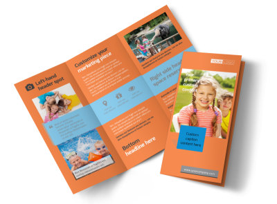 Babysitting Tri-Fold Brochure Template preview
