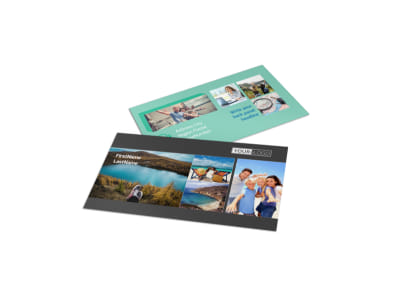 World Travel Agent Business Card Template preview