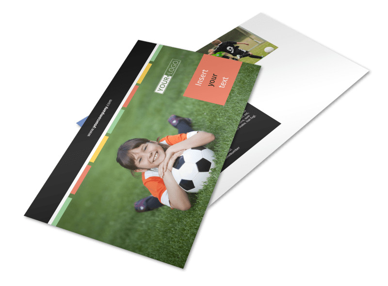 Soccer Camp Postcard Template Preview 4