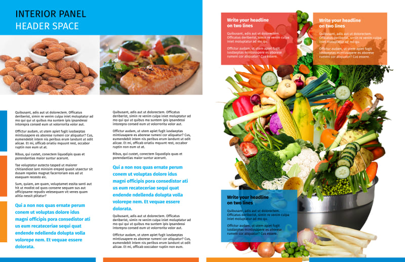 Dietary Guidance Consulting Brochure Template Preview 3
