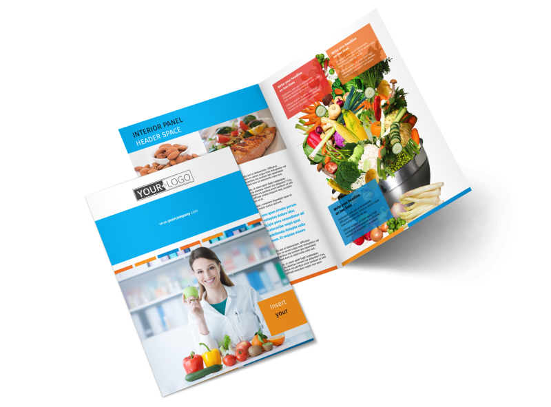 Dietary Guidance Consulting Brochure Template Preview 1