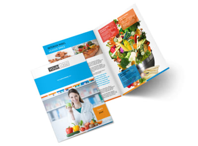 Dietary Guidance Consulting Bi-Fold Brochure Template 2