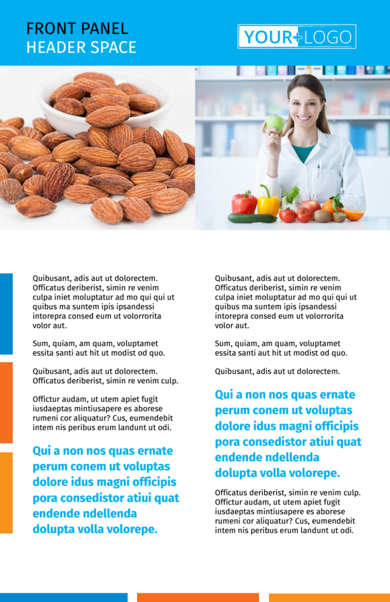 Dietary Guidance Consulting Flyer Template Preview 2