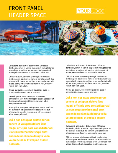 Amusement Park Flyer Template Preview 1