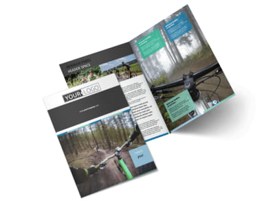 Biking & Cycling Bi-Fold Brochure Template 2 preview