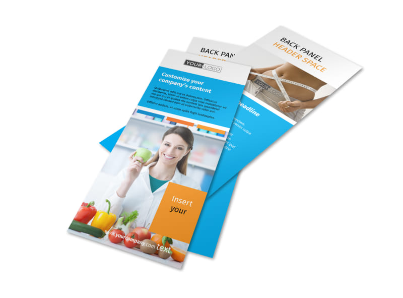 Dietary Guidance Consulting Flyer Template Preview 4