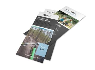 Biking & Cycling Flyer Template 2