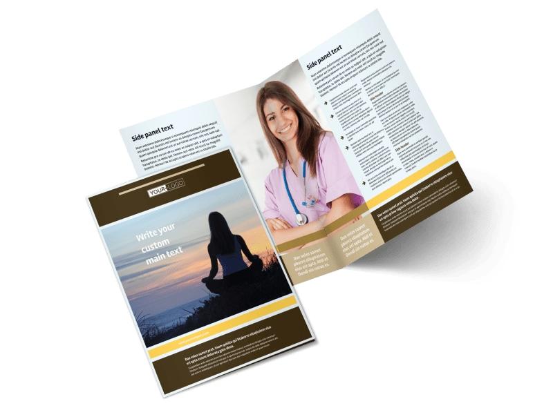 womens health non profit brochure template mycreativeshop
