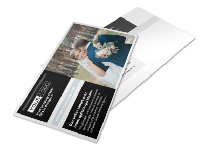 Wedding & Event Planning Postcard Template 2 preview