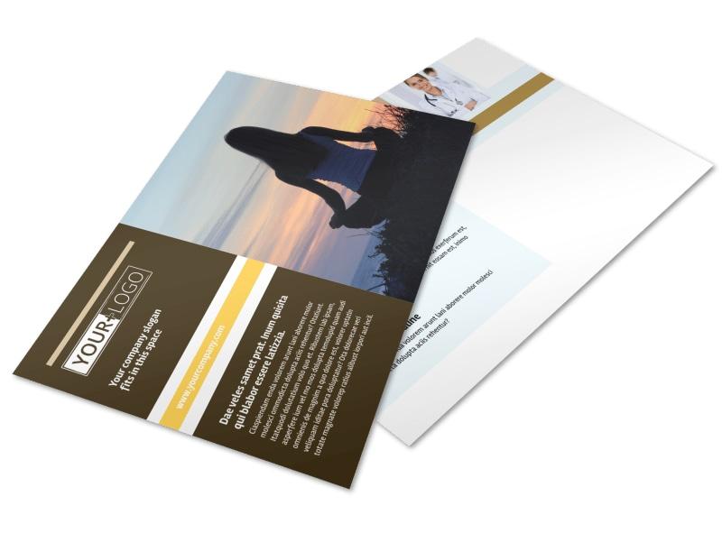 Womens Health Non Profit Postcard Template Preview 4
