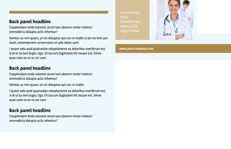 Womens Health Non Profit Postcard Template Preview 3