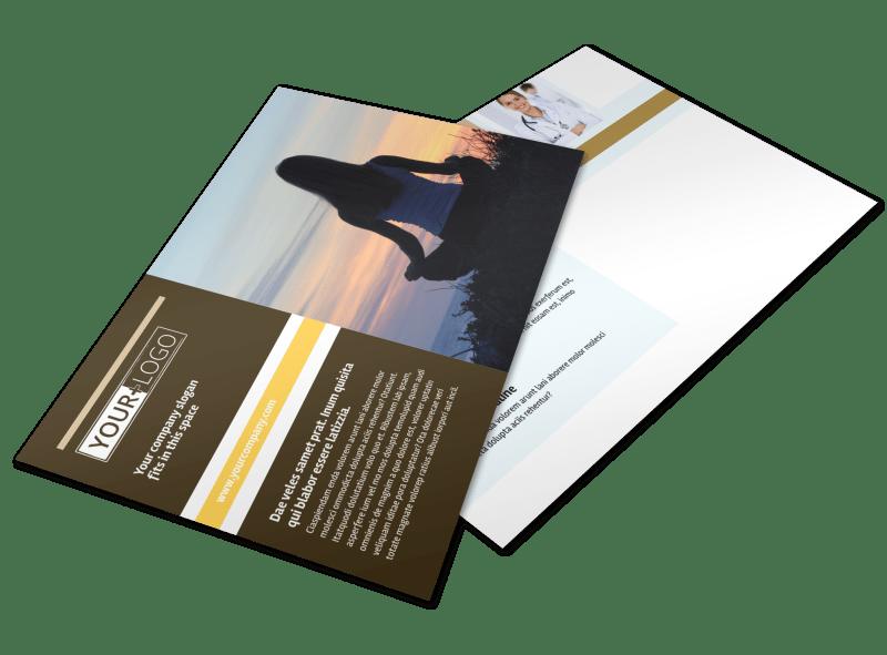 Womens Health Non Profit Postcard Template Preview 1