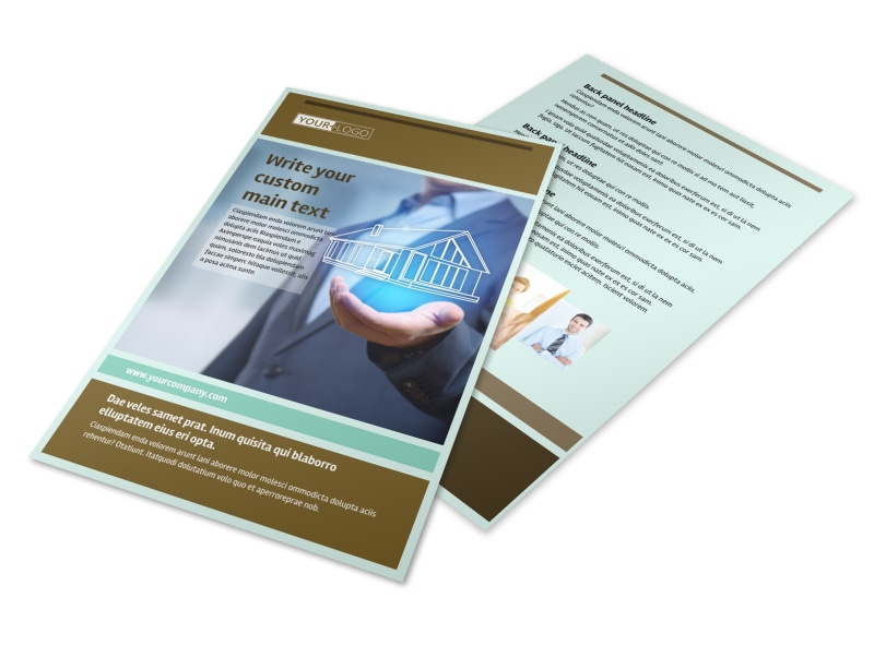 Home Insurance Flyer Template 3