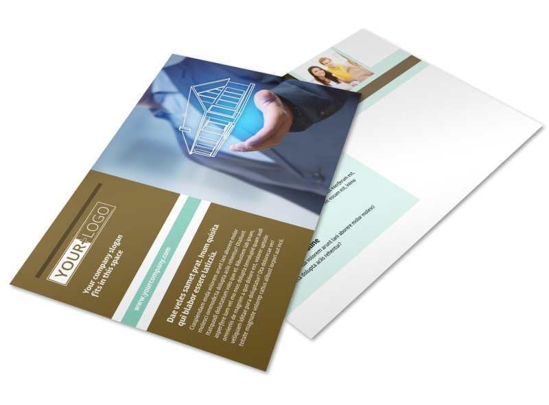 Home Insurance Postcard Template