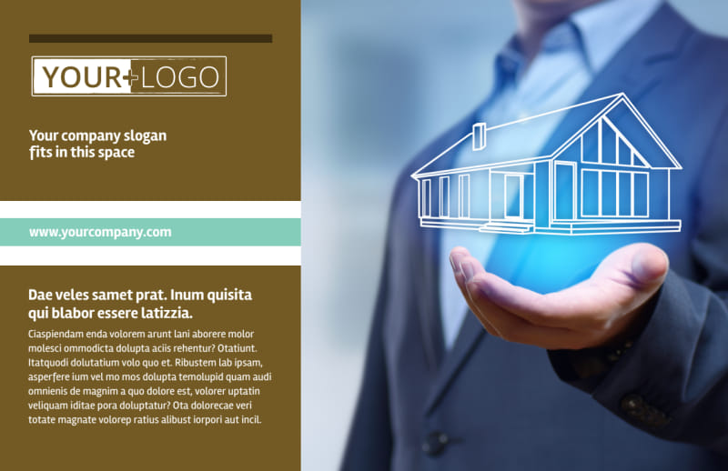 Home Insurance Postcard Template Preview 2