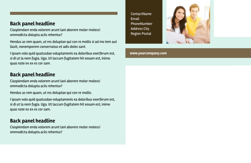 Home Insurance Postcard Template Preview 3