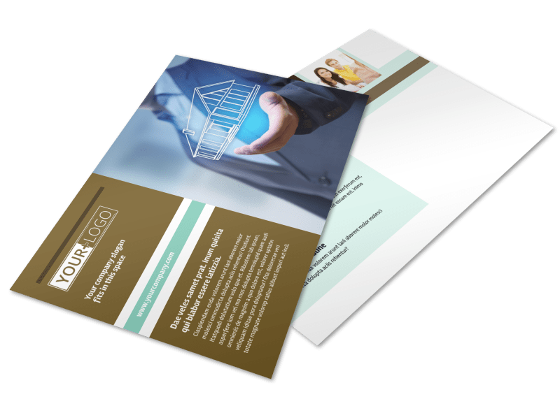 Home Insurance Postcard Template Preview 1