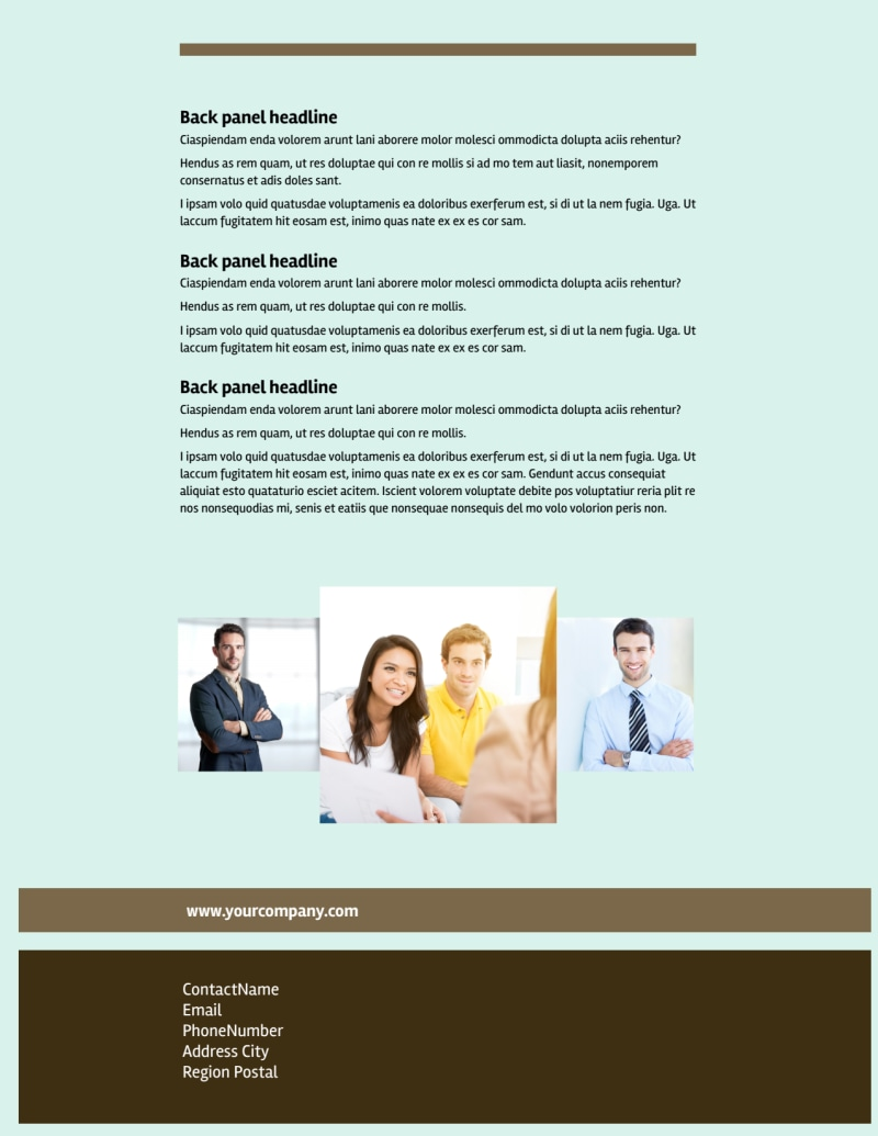 Home Insurance Flyer Template Preview 3