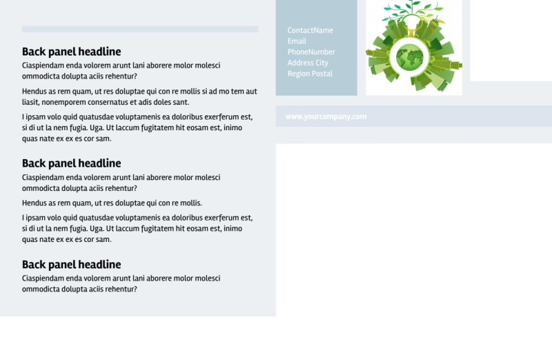 Clean Energy Consultants Postcard Template Preview 3