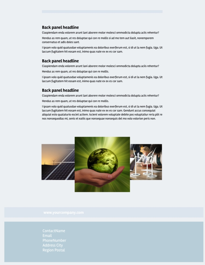 Clean Energy Consultants Flyer Template Preview 3