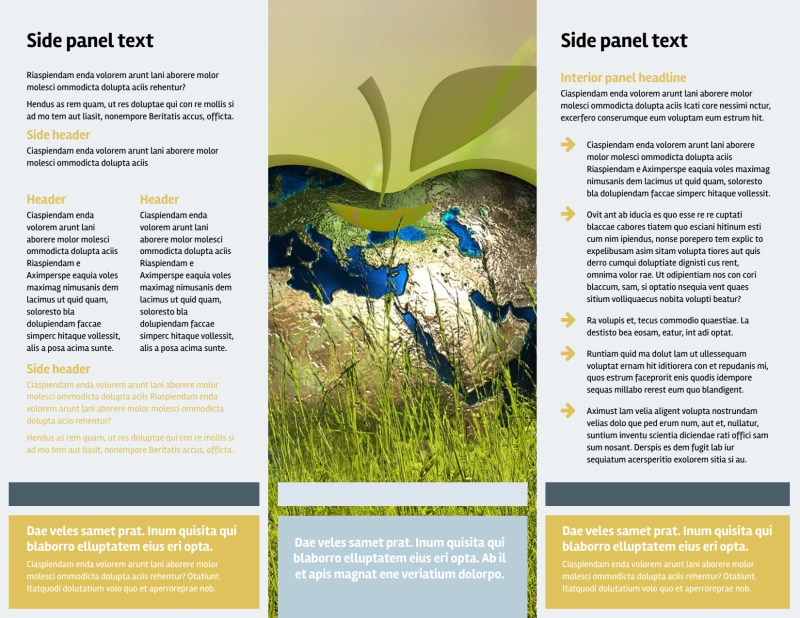 Clean Energy Consultants Brochure Template Preview 3